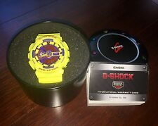 Casio G Shock GA-110A-9DR Limited edition Hyper Color: Yellow - Rare (US Seller)