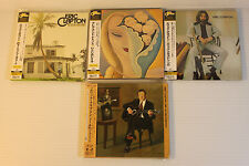 ERIC CLAPTON ~ JAPAN MINI LP CD x 4 ~ AUTHENTIC, VERY RARE, OUT OF PRINT