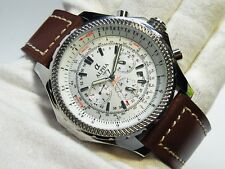 HUGE SIZE ALPHA SILVER DIAL MULTI-FUNCTION AUTOMATIC WATCH *Ebay Lowest Price*
