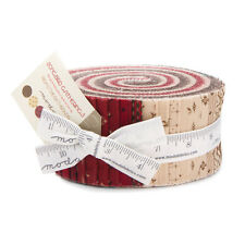 "JELLY ROLL~40-2.5"" STRIPS~PRIMITIVE GATHERINGS-SONGBIRD~1160JR~MODA FABRIC"