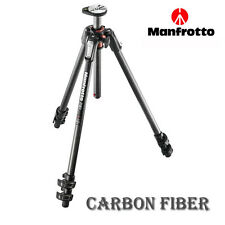 Manfrotto Tripod MT190CXPRO3 Carbon Fiber Legs w/ Q90 Column Black 3 Section