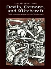 Devils, Demons and Witchcraft by Ernst Lehner  (Compiler) FREE SHIPPING