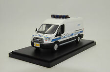 Rare !! Ford Transit McHenry County Sheriff  Police Custom Made 1/43