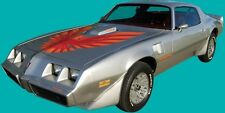 1978 1979 1980 Pontiac Firebird Trans Am Decals Kit