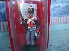 1/32  Del Prado   LIEUTENANT 14TH LIGHT DRAGOONS 1812 metal figure