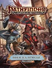 Pathfinder Campaign Setting : Inner Sea Intrigue by Paizo Staff (2016,...