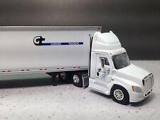 HO 1/87 TNS # 098 Freightliner Cascadia Day Cab w/53' Dry Van Gardner - White