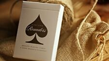ROUNDERS BROWN BICYCLE DECK PLAYING CARDS BY MADISON & ELLUSIONIST MAGIC TRICKS