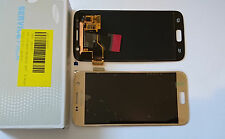 SAMSUNG GALAXY S7 G930F LCD TOUCH SCREEN DISPLAY ORIGINAL GENUINE GOLD COMPLETE