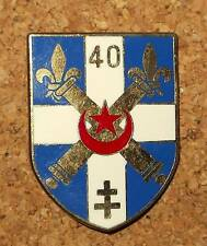 insigne - 40° régiment d'artillerie - Delsart G2161