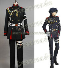 Owari no Seraph of the End Guren Ichinose Attire Outfit Uniform Cosplay Costume