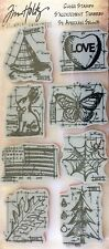 TIM HOLTZ VISUAL ARTISTRY rubber cling stamps HAPPY EVERYTHING BLUEPRINT