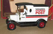 MATCHBOX MODELS OF YESTERYEAR CODE 3 FORD MODEL T VAN LANCASHIRE EVENING POST