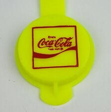 Coca-Cola Bottle Cap Bottles Lid Closure Bottle Cap Replacement USA 1970 yellow