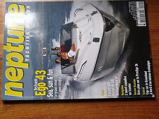 $$ Revue neptune Yachting Moteur N°171 Ego 43  Prestige 36  ouest Canada