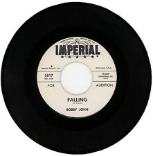 "BOBBY JOHN  ""FALLING c/w I HOPE YOU FALL IN LOVE WITH ME""  DEMO  NORTHERN / R&B"
