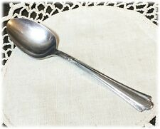Wallace Brothers Stainless Steel Oval Soup or Place Spoon Palmetto Pattern