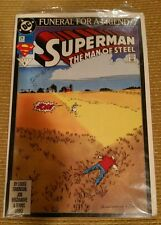 Superman The Man Of Steel #21 March 1993 DC Comic Book Funeral For A Friend
