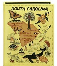 SOUTH CAROLINA EMBOSSED PHOTO ALBUM 100 PHOTOS/ 4x6