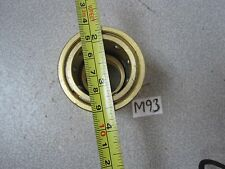 "COUPLER E-SERIES 1-1/4"" Straight Coupler Brass"