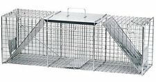 Havahart Live Animal Two-Door Large Raccoon and Opossum Cage Trap Brand New