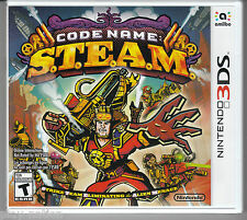 Code Name: S.T.E.A.M. (Nintendo 3DS, 2015) **NEW**