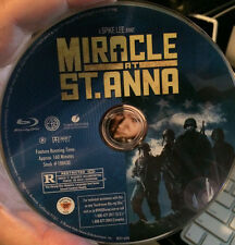 Miracle at St. Anna (Blu-ray Disc ONLY, 2009, Blu-ray) SPIKE LEE MICHAEL EALY