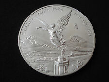 Mexico, 2 onzas, two ounces, 2004, silver, Libertad