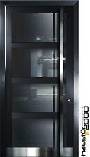 Aluminium Haustür Glas Tür Alu Haustüren nach Maß Mod. HT 7269 GLA nach Maß