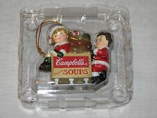 Campbell's Kids Soup 1996 Christmas Sled Toy Ornament Present Holiday Santa Clau