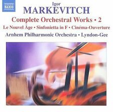 Markevitch: Complete Orchestral Works, Vol. 2, New Music