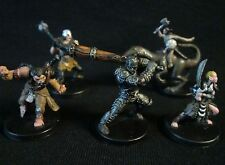 Dungeons & Dragons Miniatures Lot -  Savage & Barbarian Characters !!