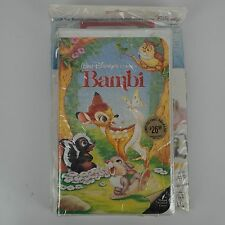 New Old Stock - Vintage Walt Disney Bambi VHS Tape & Storyteller Read Along Book