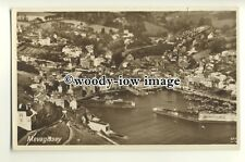 tp9839 - Cornwall - Aerial View of the Harbour & Town, of Mevagissey - postcard