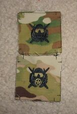U.S. ARMY SPECIAL OPERATIONS COMBAT DIVER BADGE,CLOTH ON MULTICAM, SET OF 2