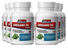 Oregano Oil - New Oregano Oil 1500mg - Help Kill Candida Supplement 6B