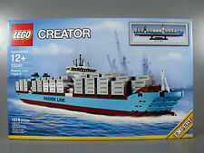 New in Box Sealed LEGO Creator Expert Maersk Triple E Cargo Ship Set #10241(1)