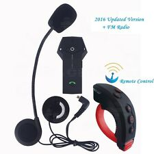 1000m Casco De Moto Interphone Bluetooth Multi Intercomunicador Control Remoto+