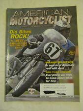 October 2004 American Motorcyclist Magazine, Old Bikes Rock  (BD-29)