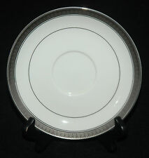 MIKASA FINE CHINA SAUCER ONLY PALATIAL PLATINUM PATTERN L3235