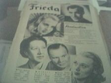 newspaper article 1947 - the upturned glass production 2 page