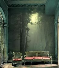 Wall removable sticker mural wallpaper rain forest
