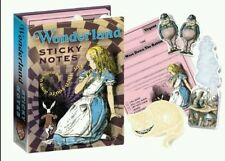 Alice in WONDERLAND - Sticky Notes, Unique, Gift, NEW, The UPG,