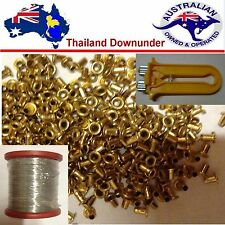 BEEKEEPING CRIMPER + STAINLESS 304 FRAME WIRE 500G & 1200 + BRASS FRAME EYELETS