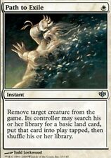 Chemin vers l'Exil - Path to Exile - Conflux ou Modern Masters -  Magic mtg - NM