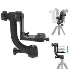 Movo Pro Panoramic 360° Gimbal Pan Tripod Head for Telephoto Lens DSLR Camera