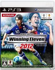Used PS3 Winning Eleven 2012 SONY PLAYSTATION 3 JAPAN JAPANESE JAPONAIS IMPORT
