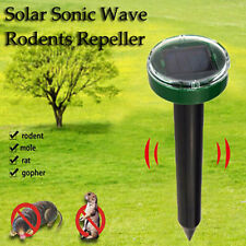 1PC Solar Ultrasonic Snake Mouse Rodent Pest Repellers Reject Outdoor HOT Yards