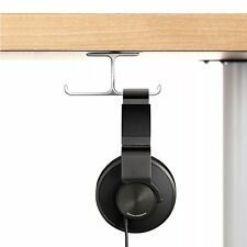 Headphone Stand, 6amLifestyle Aluminum Under desk Dual Headset Hanger Holder for