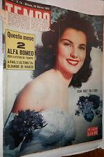 TEMPO 28 Marzo 1953 Debra Paget Questione Trieste Clara Boothe Luce Bergman di e